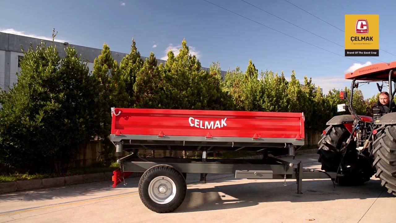 Traktorske Prikolice – CELMAK 4 tone Jednoosovinka