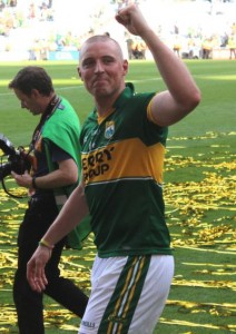 Kieran Donaghy, in the aftermath of the 2014 All-Ireland Final. Photo by Dermot Crean.