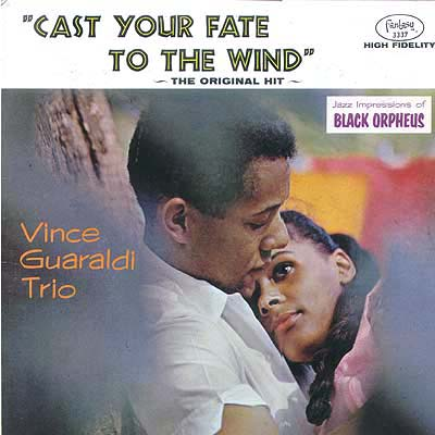 Cover Art Vince Guaraldi Trio Cast Your Fate To The Wind