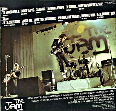 Cover Art The Jam  This is the Modern World