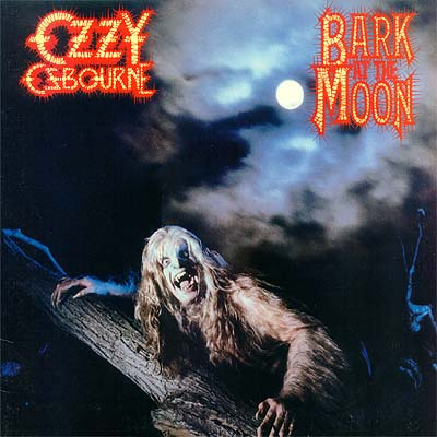 Album Cover Art  Ozzy Osbourne  Bark at the Moon
