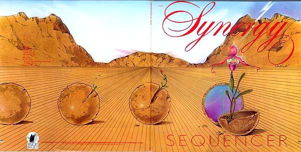 Album Cover Art  Synergy  Sequencer