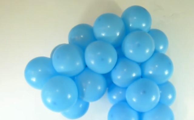 Formamos uno solo de las bolas.