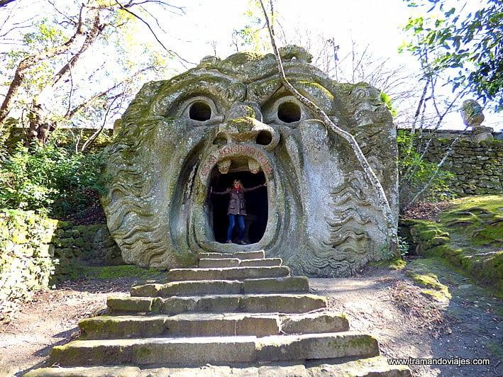 Parque de los Monstruos de Bomarzo a una hora de Roma