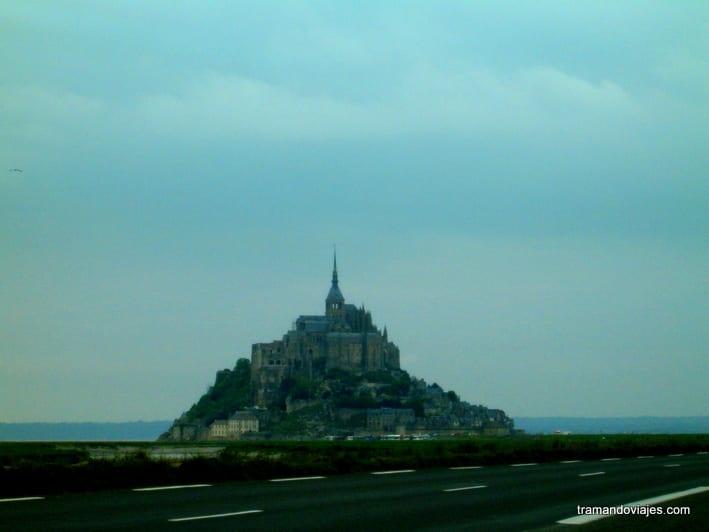 Mont Saint-Michel. Antes y después.
