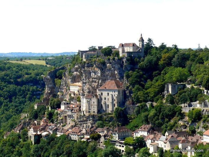 Rocamadour y el célebre santuario de la Virgen negra