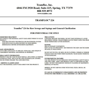Tramfloc 224