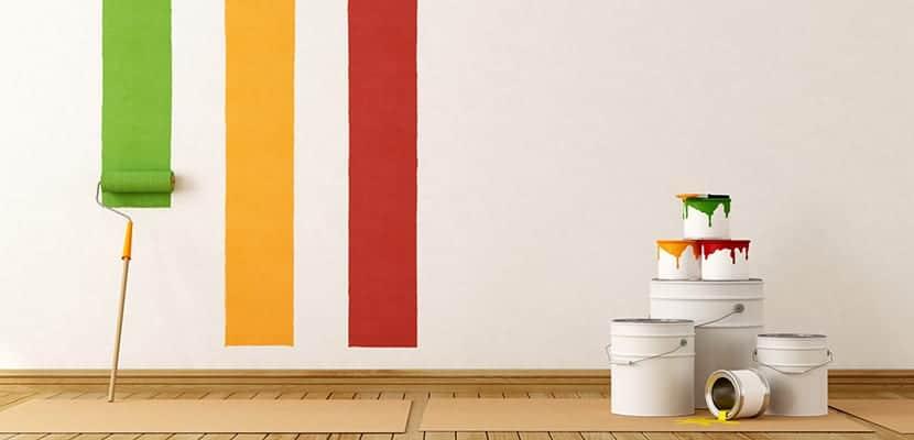 pintar una pared materiales | Tramita tu Mejoravit • mejoravit