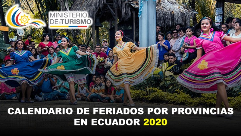 Calendario de Feriados por Provincias en Ecuador