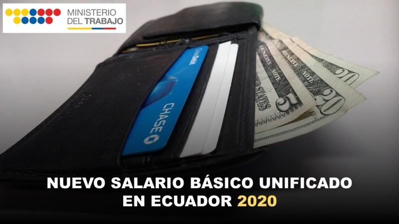 Nuevo Salario Básico Unificado en Ecuador