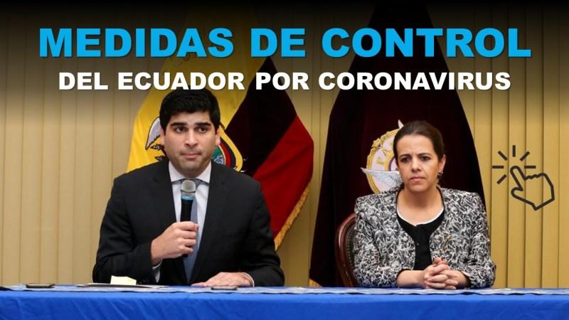 Medidas de Control del Ecuador por Coronavirus