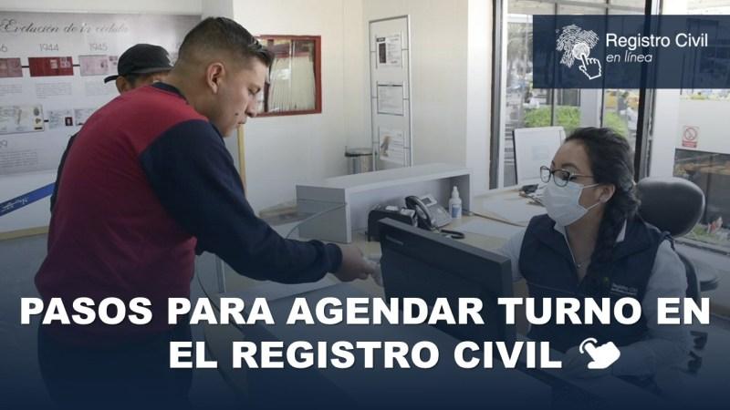 Pasos para Agendar Turno en el Registro Civil