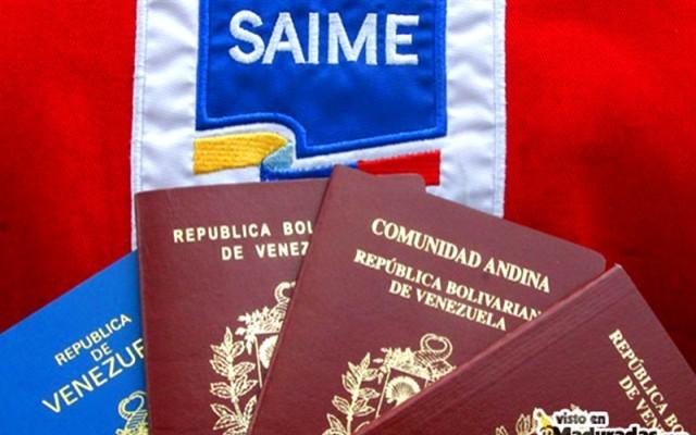 Saime suspendió citas para pasaportes hasta nuevo aviso