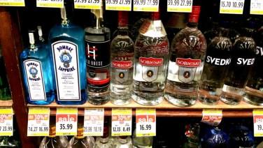 California, vodka, polish, sobieski, big, bottle,