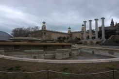Magic Fountain of Montjuïc. This is how it looks like when turned off. I wasn't lucky enough to see the light show :(