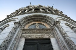 Baptistery entrance