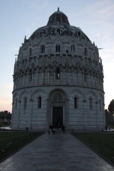 Baptistery evening