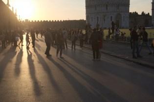 Evening in Pisa