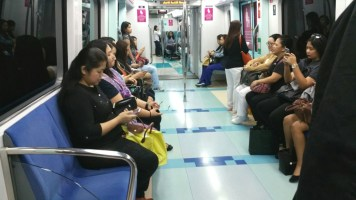 Women section - metro Dubai