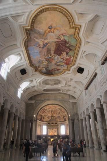 A little look inside a church