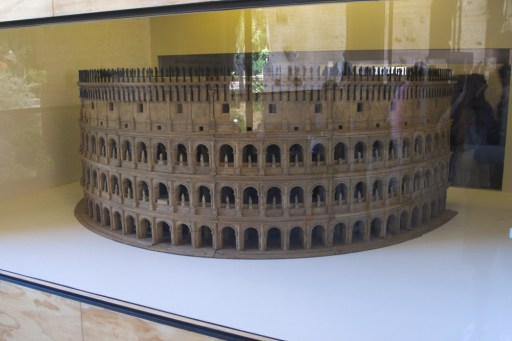 Colosseum once in its glory