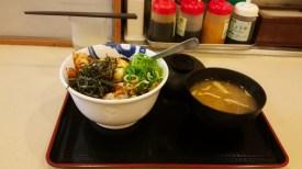 Super tasty something Japanese street food