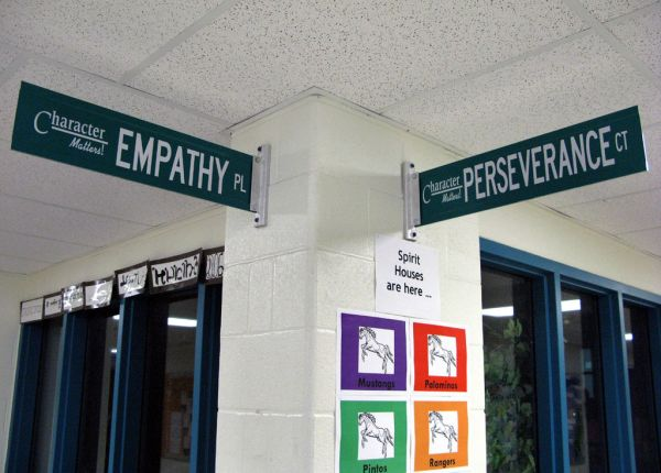 photo of corner of Empathy Place and Perservierance Ct