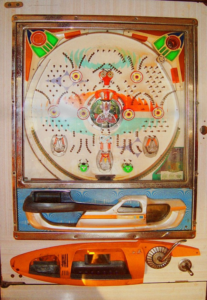70s pachinko machine