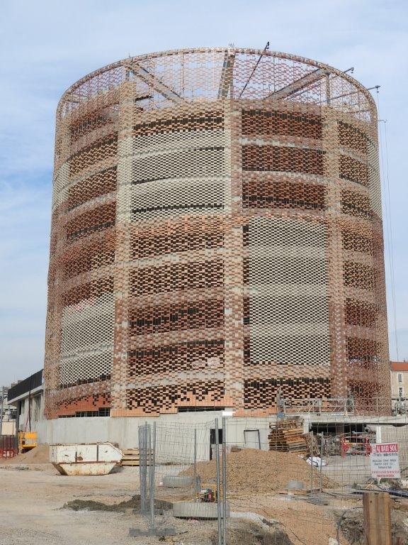 11 mars 2015  Encore un petit effort et lhabillage du futur parking silo Le Nouveau SaintRoch