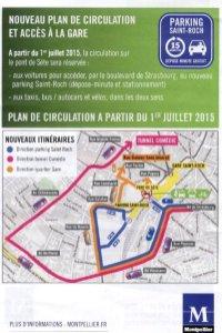 Parking Gare Saint Roch Montpellier : parking, saint, montpellier, Circulation, Vigueur, Juillet, Accéder, Saint-Roch, Parking, Tramway, Montpellier