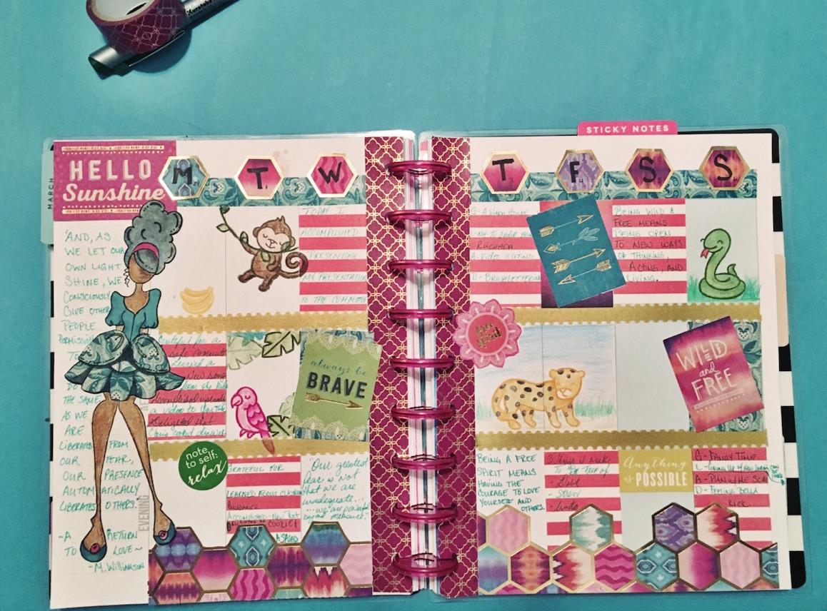 scrapbook journaling