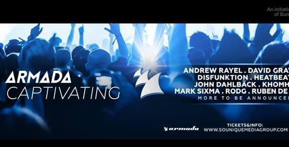 Armada Captivating' hits Amsterdam Dance Event 2015