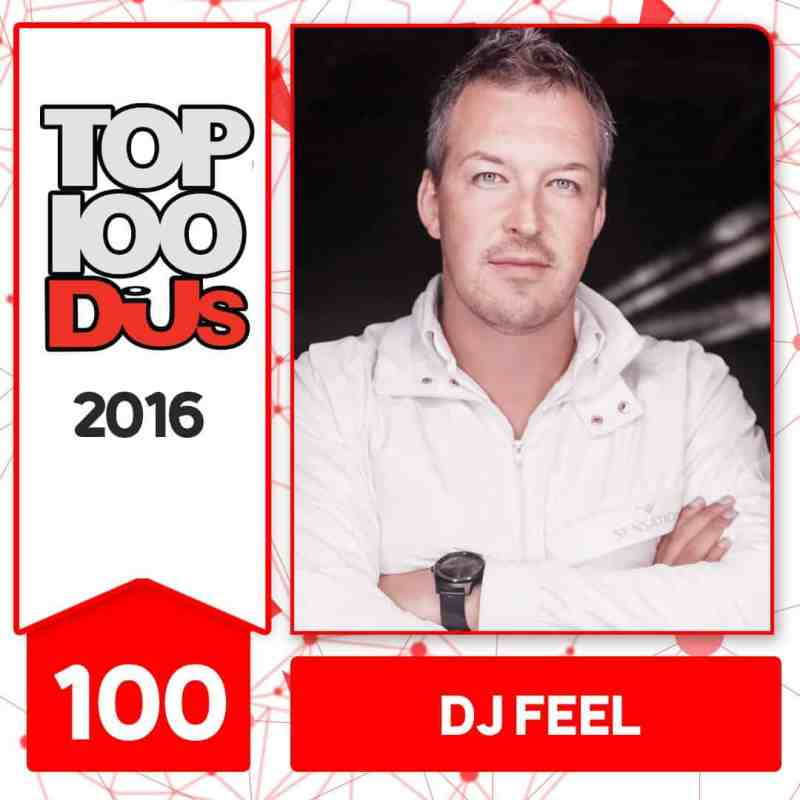 DJ Feel at No.100 of the DJ Mag 100 2016