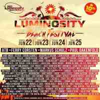 Luminosity Beach Festival 2017 (22. - 25.06.2017) @ Bloemendaal, Netherlands