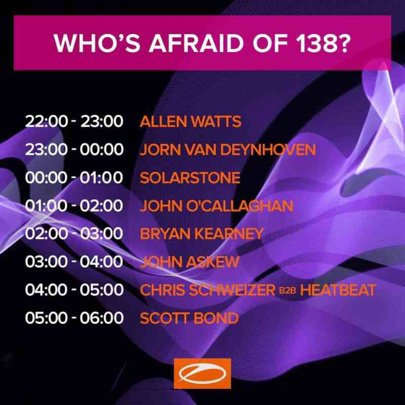Who's Afraid Of 138 Stage