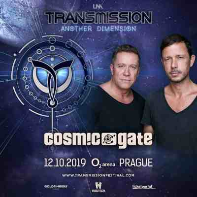Cosmic Gate live at Transmission - Another Dimension (12.10.2019) @ Prague, Czech Republic