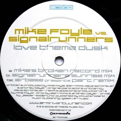 Mike Foyle vs. Signalrunners - Love Theme Dusk (Mike's Broken Record Mix)