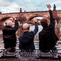 Above & Beyond's Deep Warm Up live at Group Therapy 350 (11.10.2019) @ Prague, Czech Republic