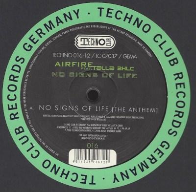 Airfire feat. Talla 2XLC - No Signs Of Life