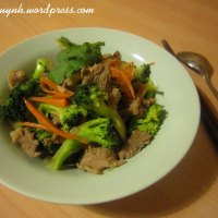 Beef and Broccoli Stir-fry with Soy Sauce