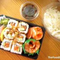Tasty Wanderings: Sushi Chez Vous - Grenoble, France
