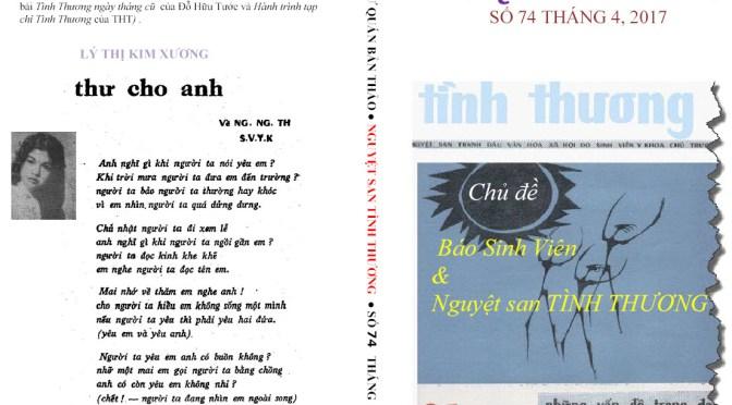 bài thơ đăng ở bìa sau