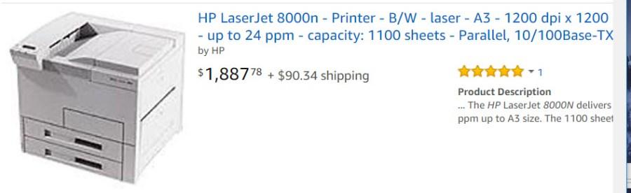 HP 8000n-2
