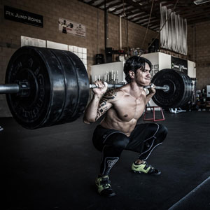 Höjning av anabola hormon genom styrketräning