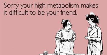 Hög metabolism