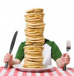 antal kalorier om dagen