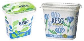 Mini keso är bättre än vanlig keso om man vill gå ner i vikt