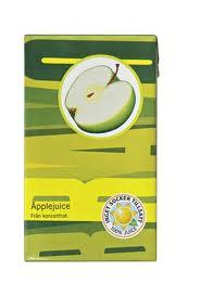 25 cl Bravo päronjuice innehåller lika mycket socker som drycken barnen fick i den här studien