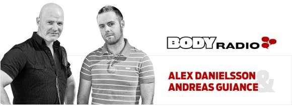 Alex Danielsson och Andreas Guiance leder BODY Radio