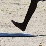 Kenyaner landar oftast på hälen när de löper
